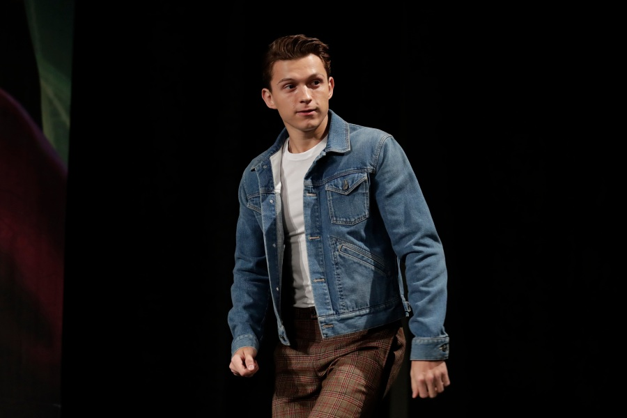 """Actor Tom Holland arrives for a press conference for his new movie """"Spider-Man: Far From Home"""" in Seoul, South Korea, . The movie is to be released in South Korea on July 2, 2019Film Spider-Man Far From Home, Seoul, South Korea - 01 Jul 2019"""