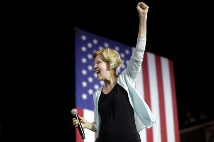 Democratic presidential candidate Elizabeth Warren, D-Mass speaks during a town hall campaign event in Los AngelesElection 2020 Warren, Los Angeles, USA - 21 Aug 2019