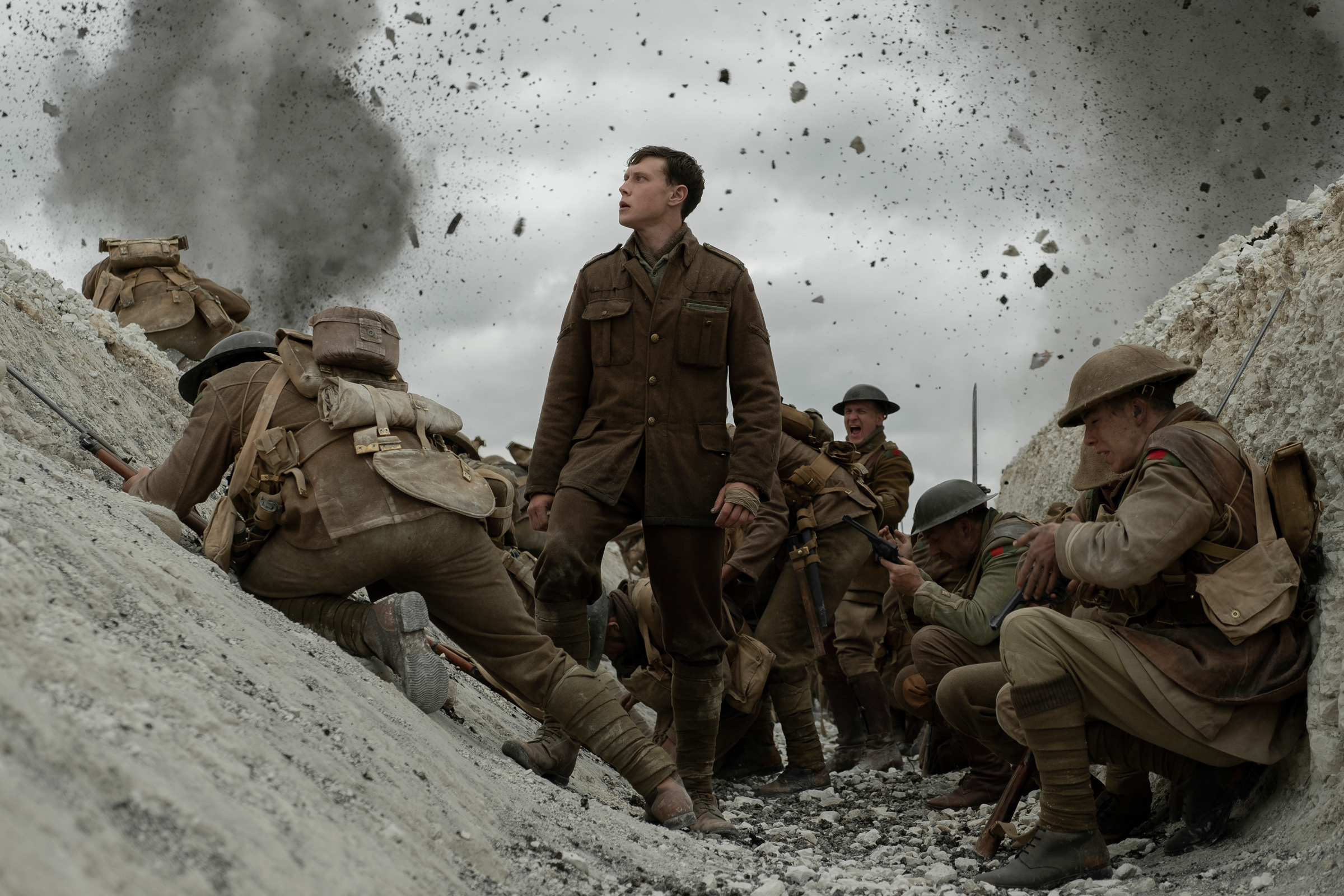Watch Soldiers Fight Time to Keep Troops Alive in Trailer for World War I Drama '1917'