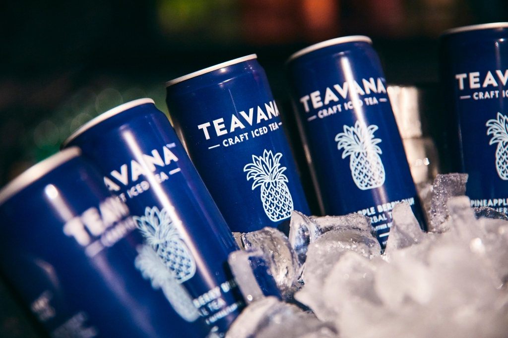 Teavana Craft Iced Tea on deck to keep guests hydrated throughout the party #ad