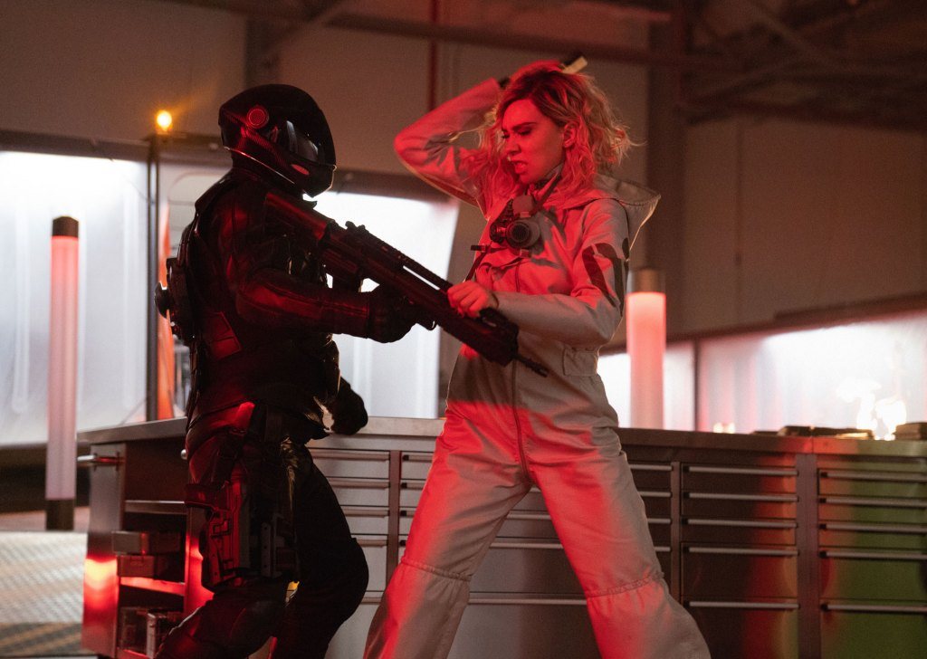 "(right) Vanessa Kirby as Hattie Shaw in ""Fast & Furious Presents: Hobbs & Shaw,"" directed by David Leitch."