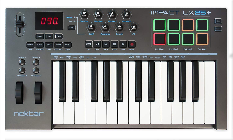 Nektar Impact LX25+ Synth