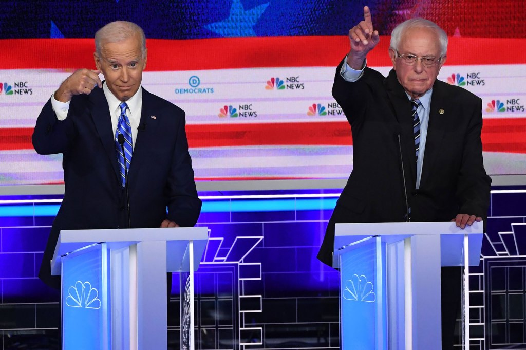 Bernie Sanders' Chances Depend on Taking Support from Biden, and Soon