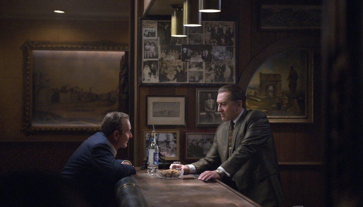 THE IRISHMAN (2019)Joe Pesci (Russell Bufalino) , Robert De Niro (Frank Sheeran)