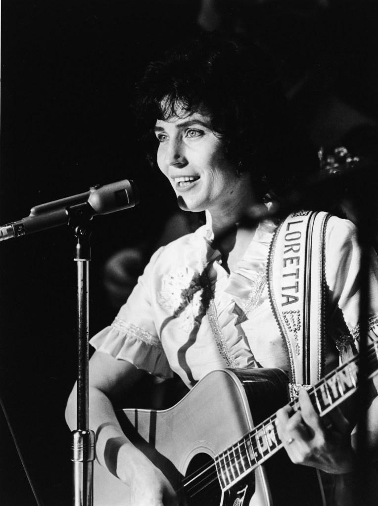 Loretta Lynn at the Grand Ole Opry, 1960s.
