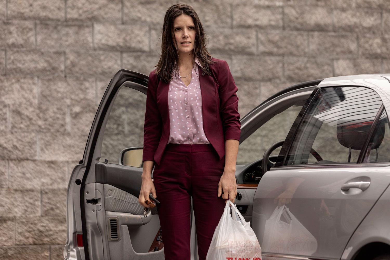 Sonya Cassidy as Liz Dudley; single- Lodge 49 _ Season 2 - Photo Credit: Jackson Lee Davis/AMC