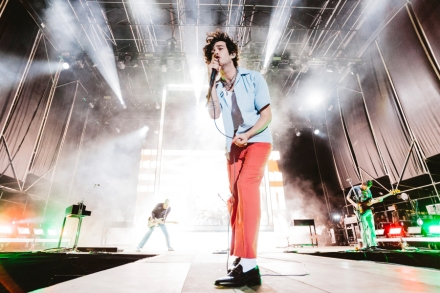 The 1975's Matt Healy Protests Anti-LGBTQ Laws in Dubai by Kissing Male Fan at Show