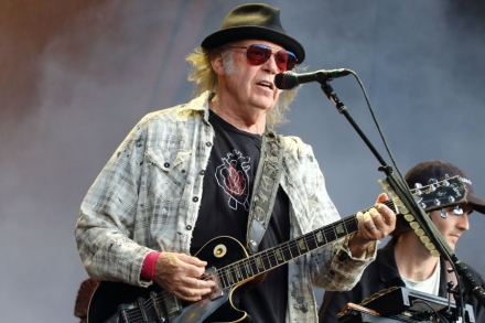Neil Young Rolls Out Plans For New Crazy Horse LP, 'Tonight's The Night' Film