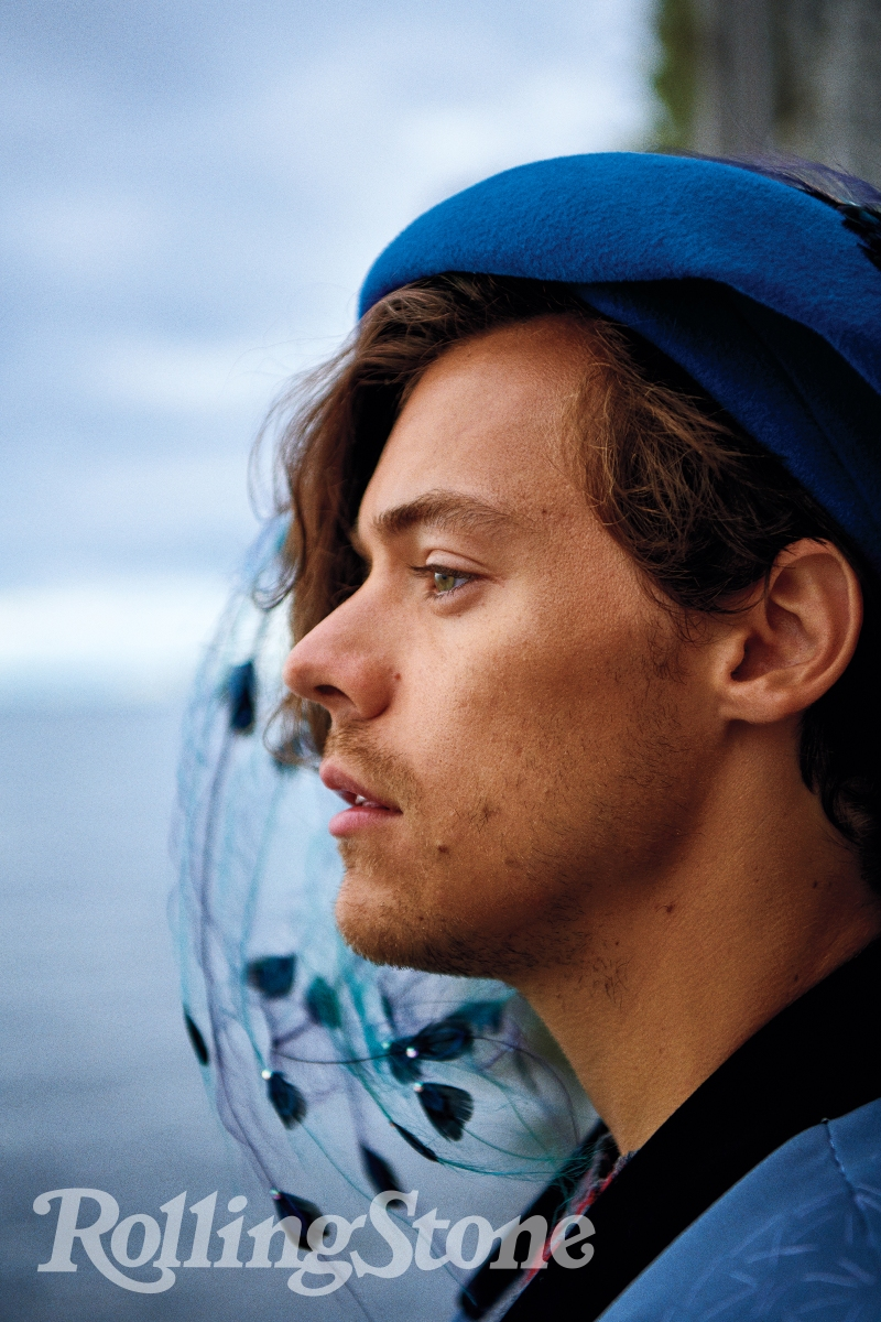 Harry Styles Photographed For Rolling Stone By Ryan Mcginley