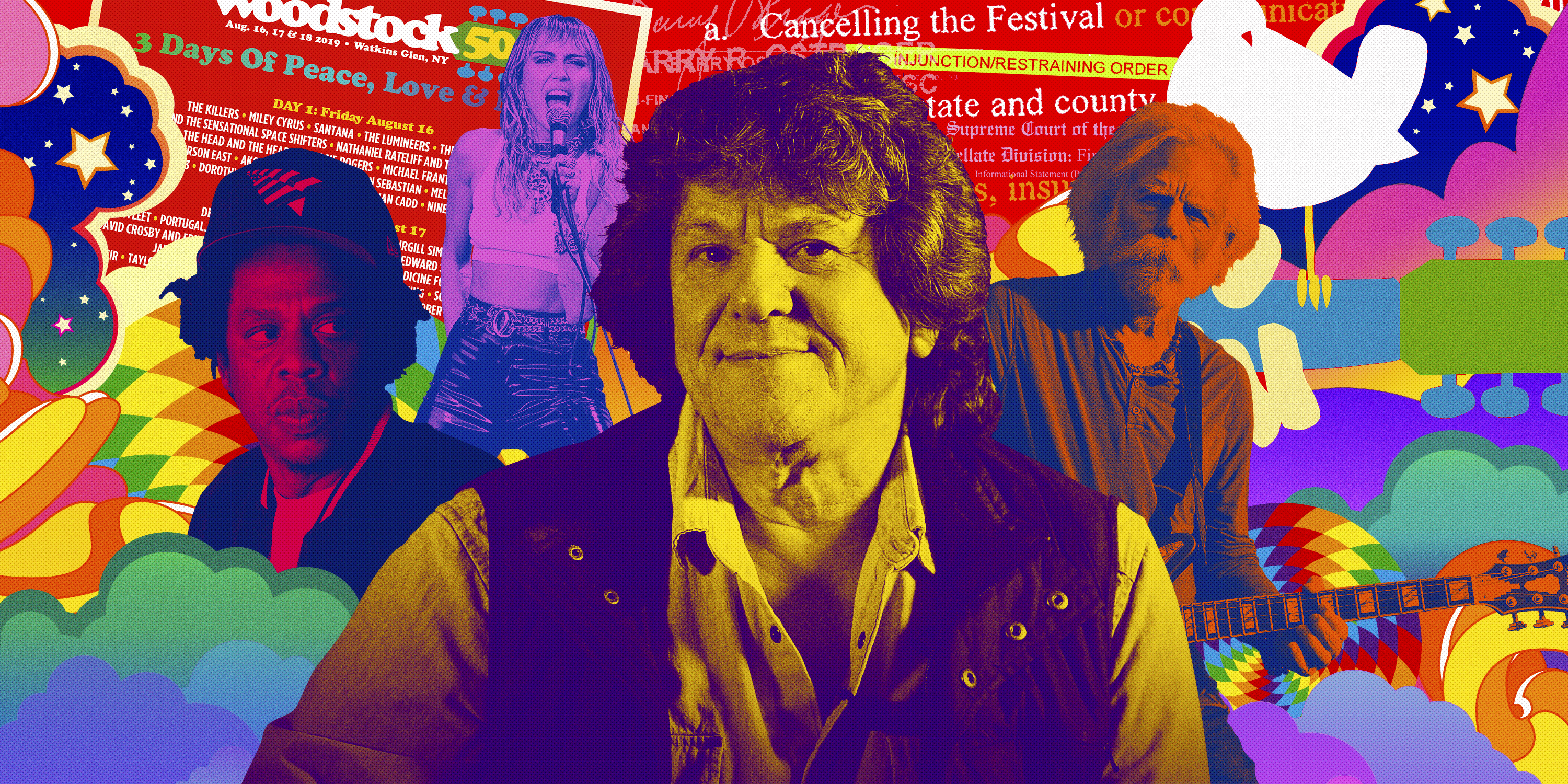 How Woodstock 50 Turned Into a Disaster – Rolling Stone