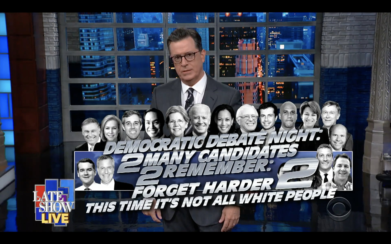 Stephen Colbert Mocks Joe Biden's Website Gaffe in Live