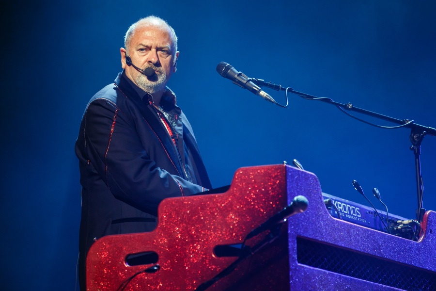 BARCELONA, SPAIN - JUNE 10:  Spike Edney of Queen performs in concert at Palau Sant Jordi on June 10, 2018 in Barcelona, Spain.  (Photo by Xavi Torrent/Redferns)