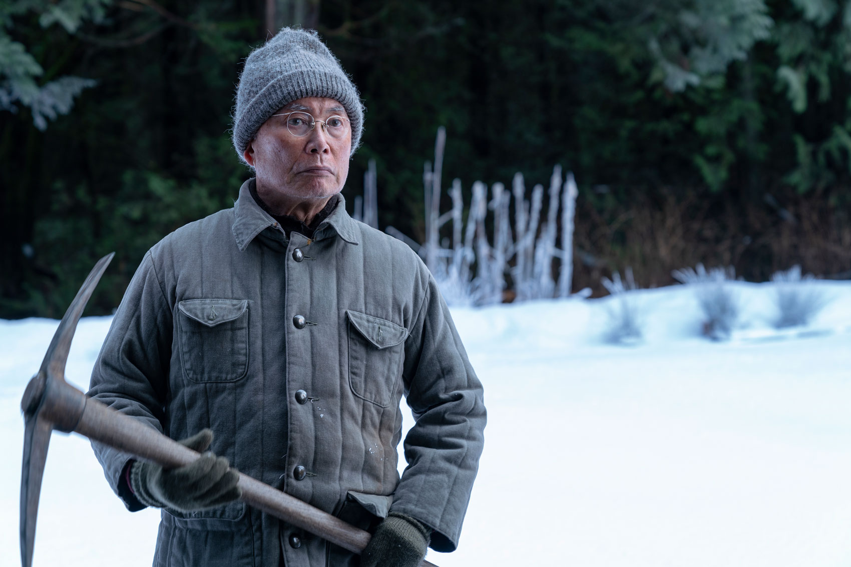 George Takei as Nobuhiro Yamato - The Terror _ Season 2 - Photo Credit: Ed Araquel/AMC
