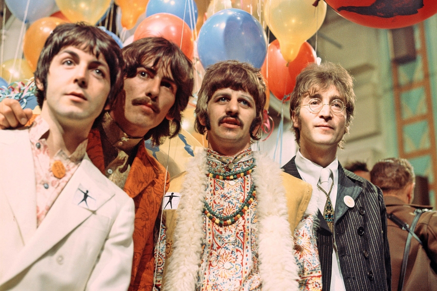 The Beatles - Paul McCartney, George Harrison, Ringo Starr and John LennonVarious - 1967