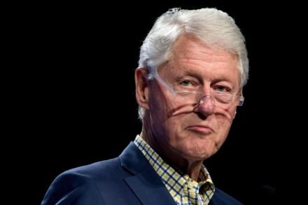 Jeffrey Epstein Owned a Portrait of Bill Clinton in a Blue Dress