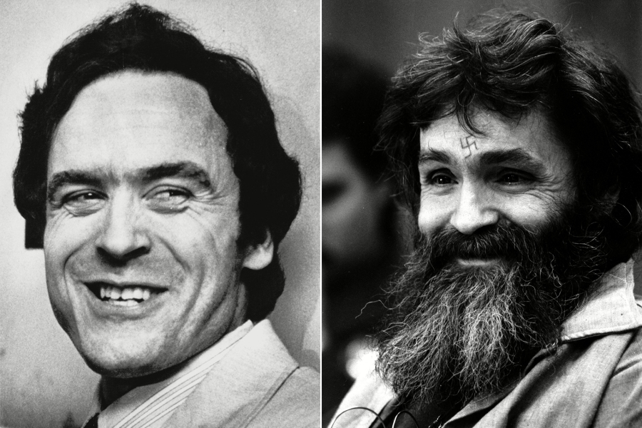 Ted Bundy and Charles Manson Fans Are Deep in a Twitter Feud