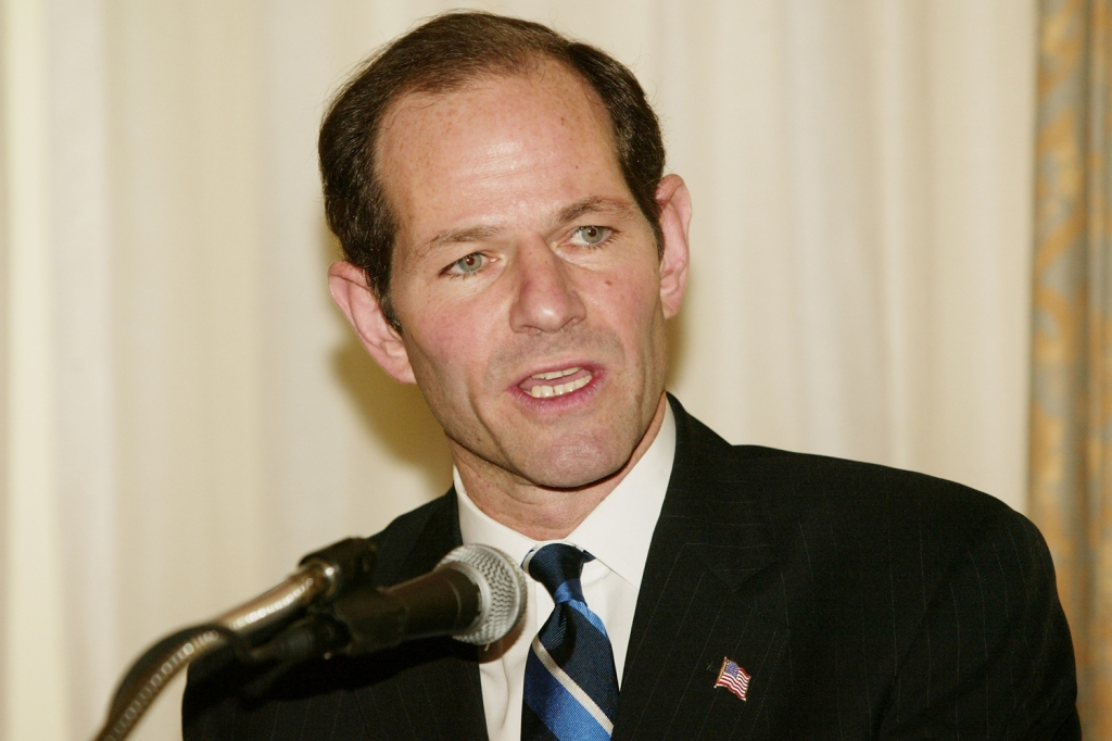 Eliot Spitzer in New York on December 04, 2003.