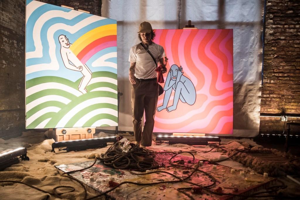 Matt Shultz, Beck and Friends Throw an Art Party in Brooklyn