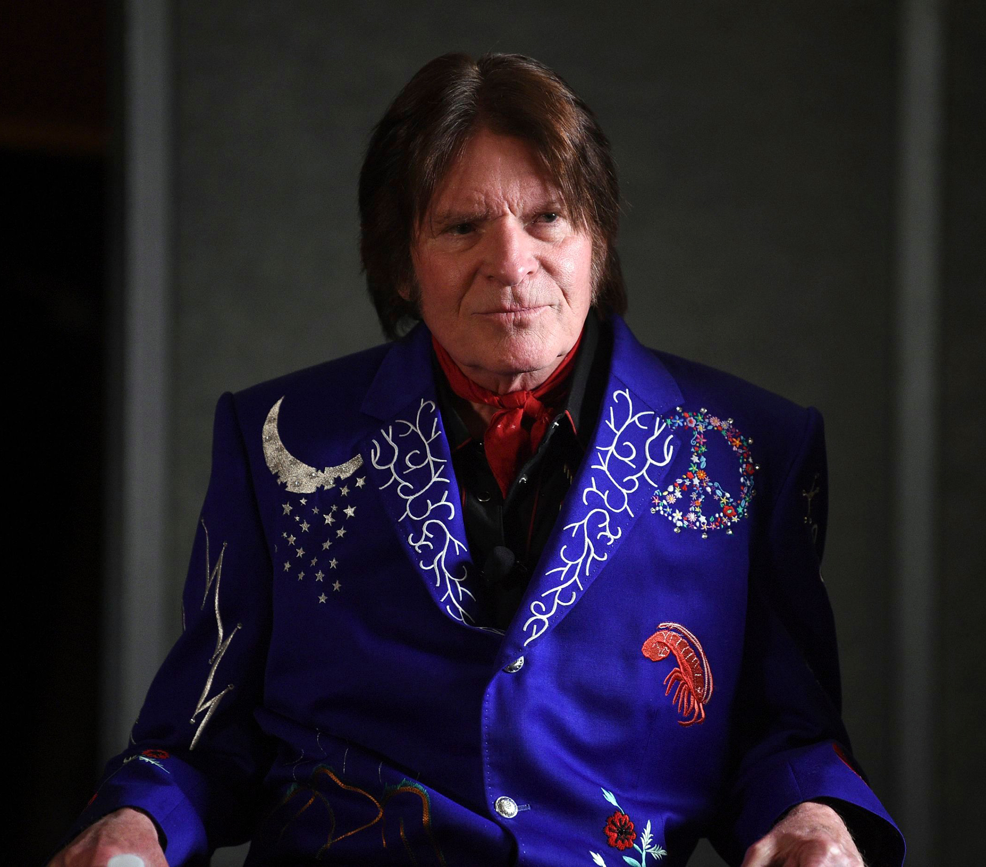 John Fogerty participates in the Woodstock 50 lineup announcement at Electric Lady Studios in New York. Fogerty has pulled out of Woodstock 50 weeks before the trouble anniversary event is supposed to take place. A representative for the singer tells The Associated Press that Fogerty, who performed at the original festival in 1969, will now only perform at a smaller Woodstock anniversary event held at the original site in Bethel, N.YWoodstock 50 Fogerty, New York, USA - 19 Mar 2019