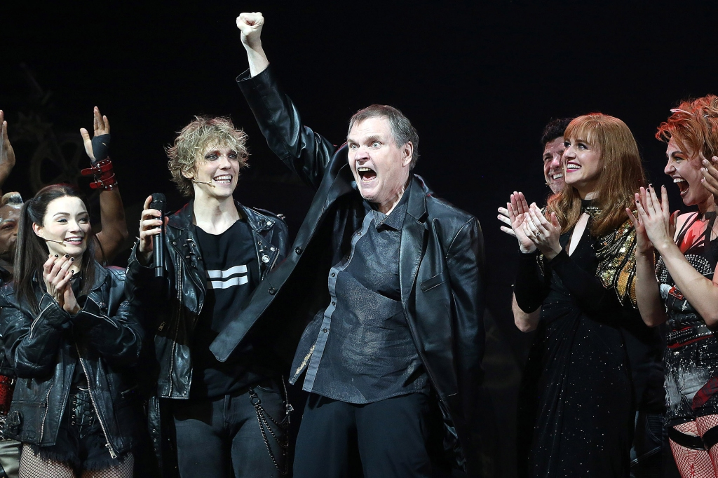 On a Hot Summer Night, Meat Loaf Joined the 'Bat Out of Hell' Cast Onstage