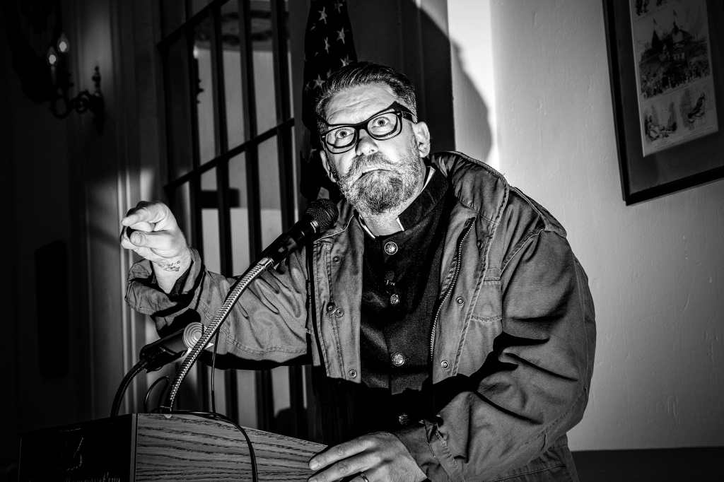 """Metropolitan Republican Club of New York City invited Gavin McInnes, who founded a far-right group which regularly engages in street brawls and violence, to gave a lecture on Friday evening, October 13, 2018 in NYC, where he will """"discuss historical context and offer perspective on the environment that surrounded Otoya Yamaguchi in 1960?s Japan.""""McInnes, who was also one of the co-founders of VICE, founded the Proud Boys in 2016, a group which bills itself as a """"pro-Western fraternal organization for men who refuse to apologize for creating the Western world."""" McInnes has repeatedly insisted the group is not far-right or racist, describing the group in the wake of last year?s Unite the Right rally as """"a men?s club that meets about once a month to drink beer"""" ? despite the fact that Jason Kessler, a initiated Proud Boy, was the main organizer for the event. Afterwards, Proud Boys marched through the upper East side after the event and got in a scuffle with ANTIFA."""
