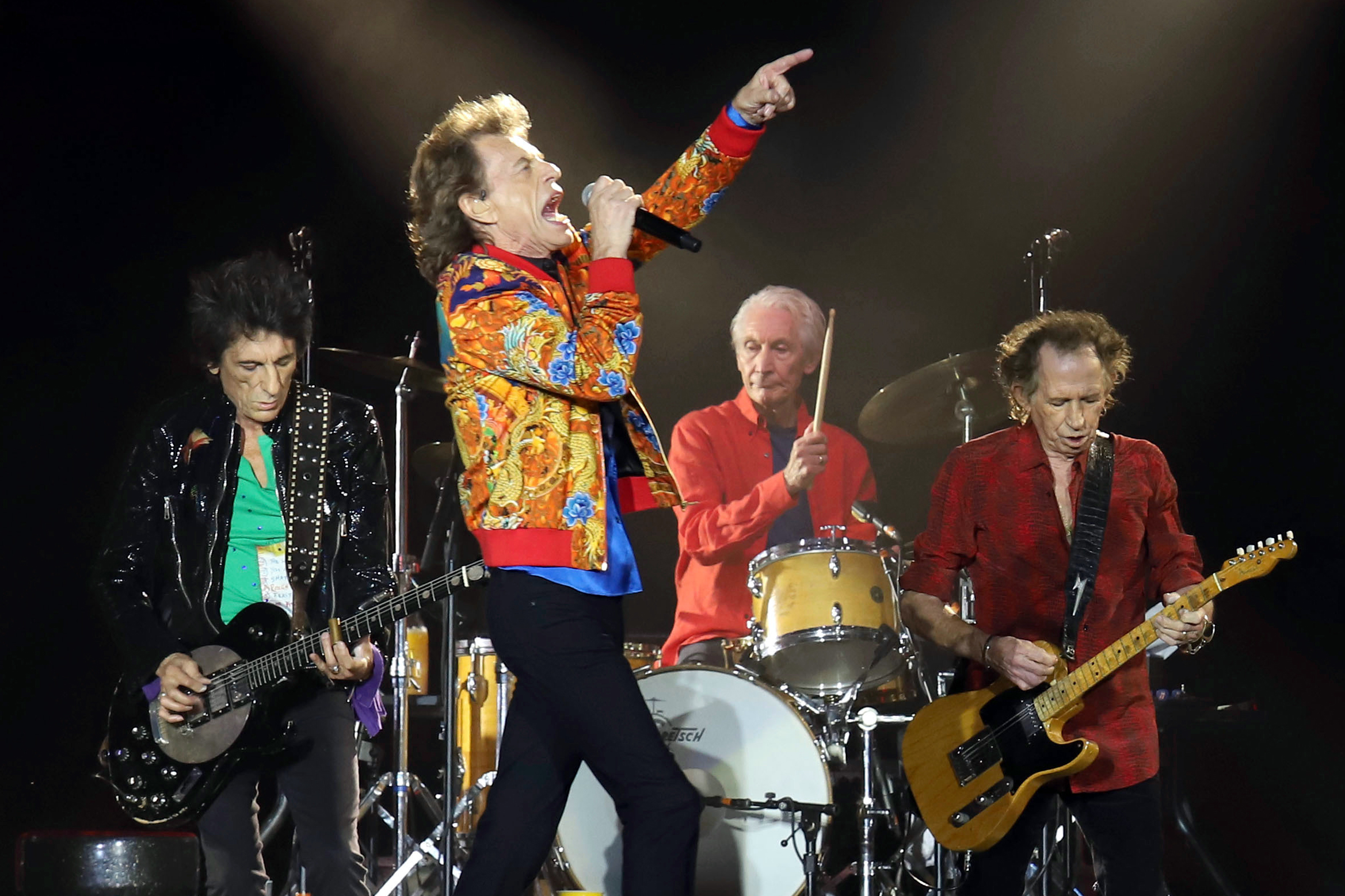 Watch Rolling Stones Play 'Harlem Shuffle' for First Time in