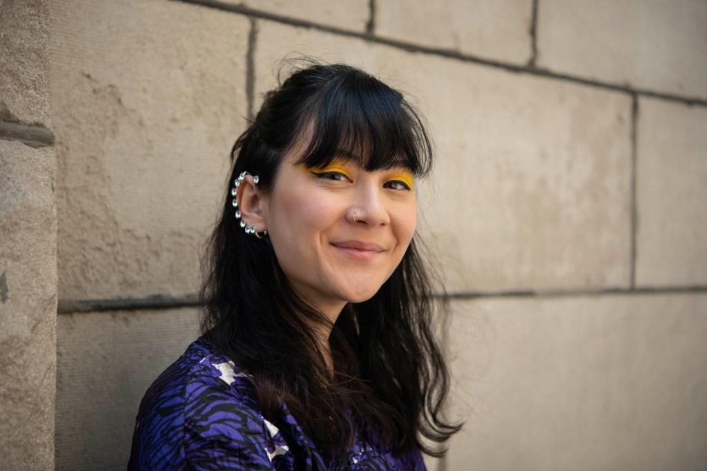 Michelle Zauner of Japanese Breakfast poses for a shot