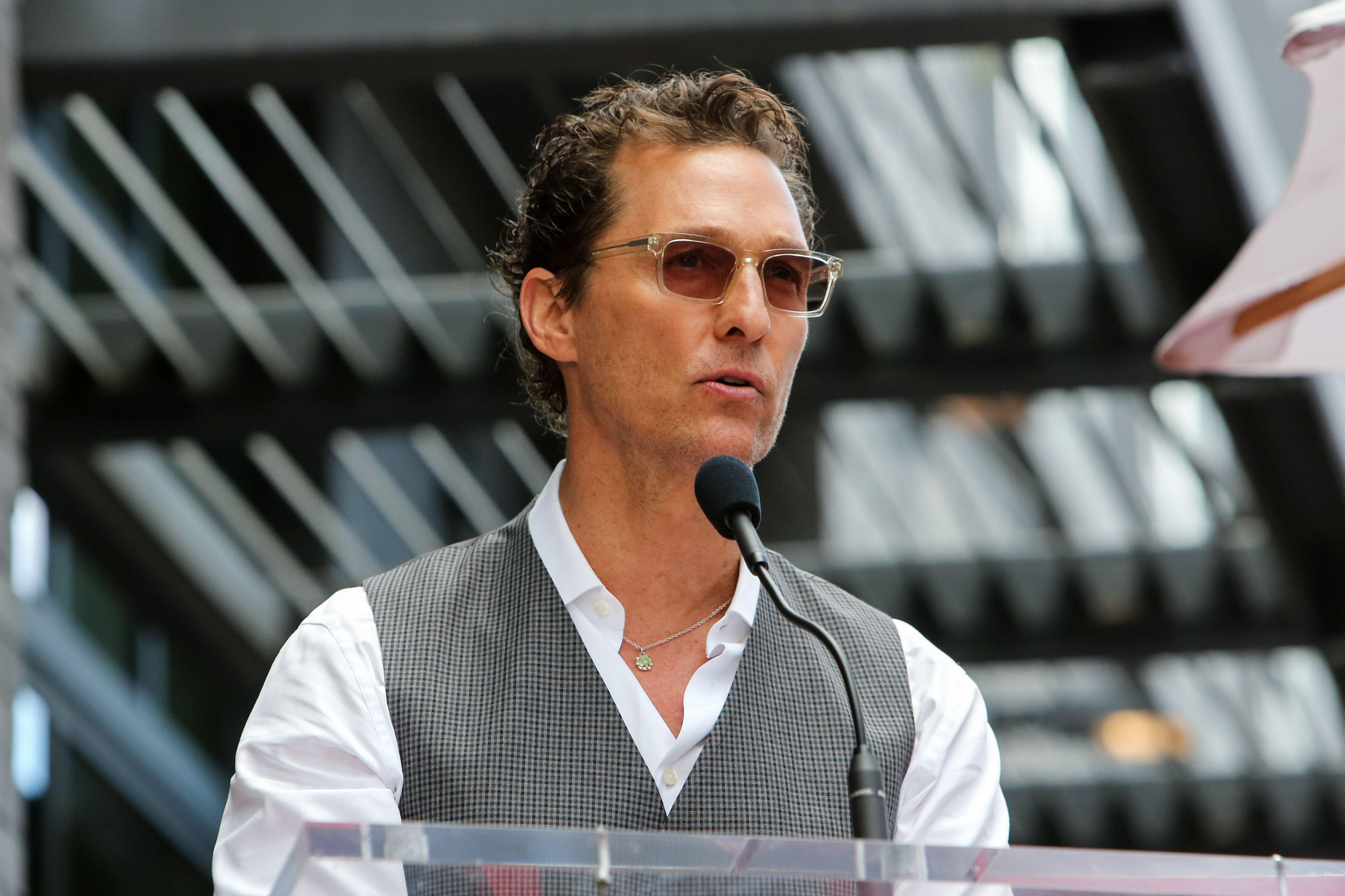 Matthew McConaughey Joins UT Austin as Faculty Professor ...