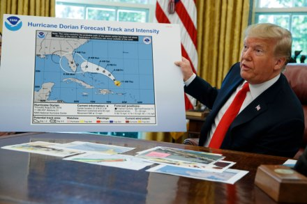 White House Alters Hurricane Dorian Map to Corroborate Trump