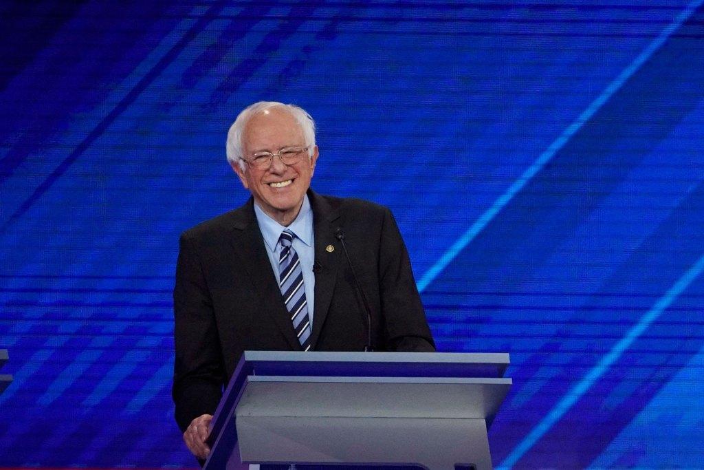 Exclusive Interview: Bernie Sanders Discusses the Debate, Joe Biden, and Corporate America
