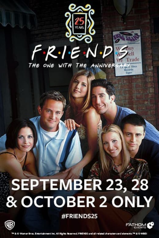 friends anniversary movie theater tickets