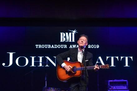 John Hiatt Honored by Elvis Costello, Lyle Lovett at BMI Troubadour Ceremony