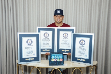 Guinness World Records 2020 List.Puerto Rican Star Ozuna Nabs Four Guinness World Records