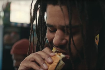 Surely J. Cole Could Afford a Better Bacon, Egg, & Cheese Sandwich Than This