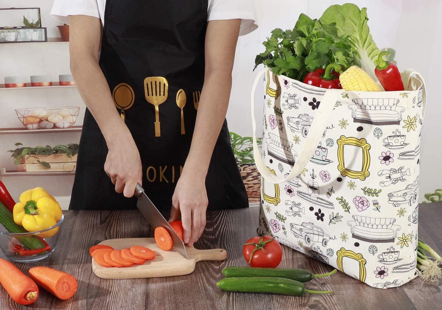 Brital Friends Grocery Tote Bag