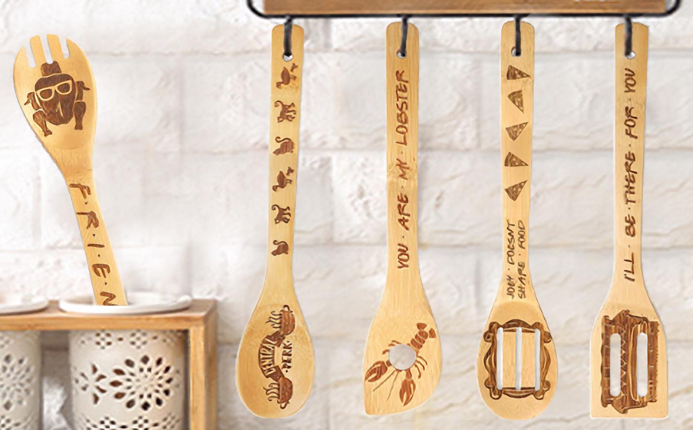 Friends Wooden Spoons