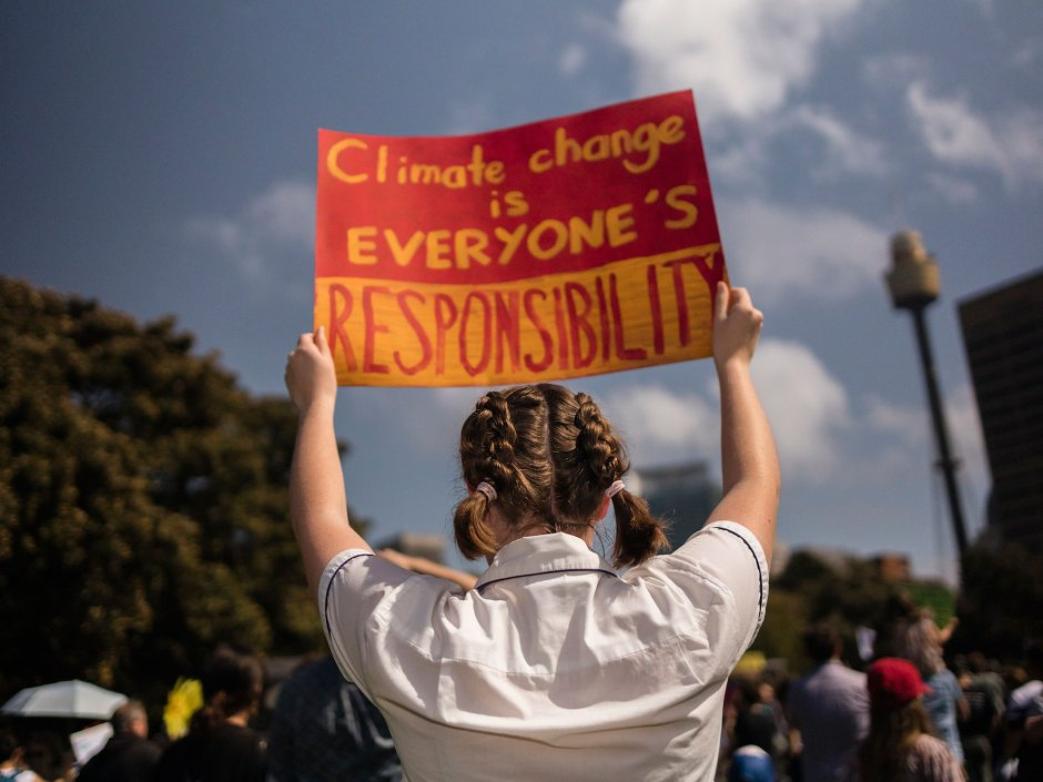 'We're Running Out of Time': Images of the Global Climate Strike