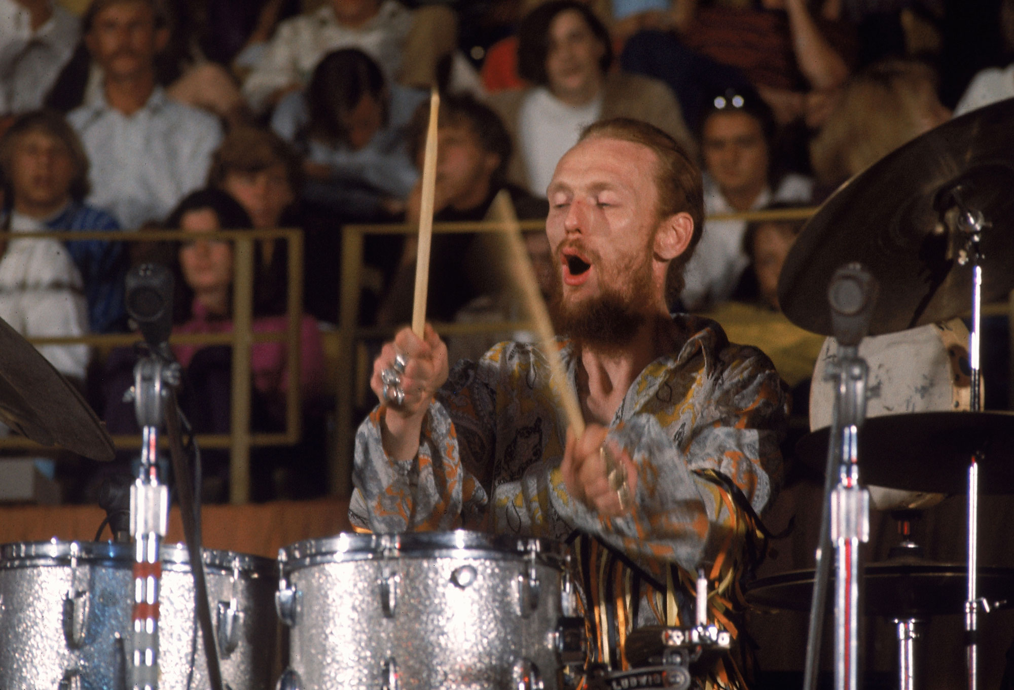 Ginger Baker: 10 Tracks That Show His Drumming Genius