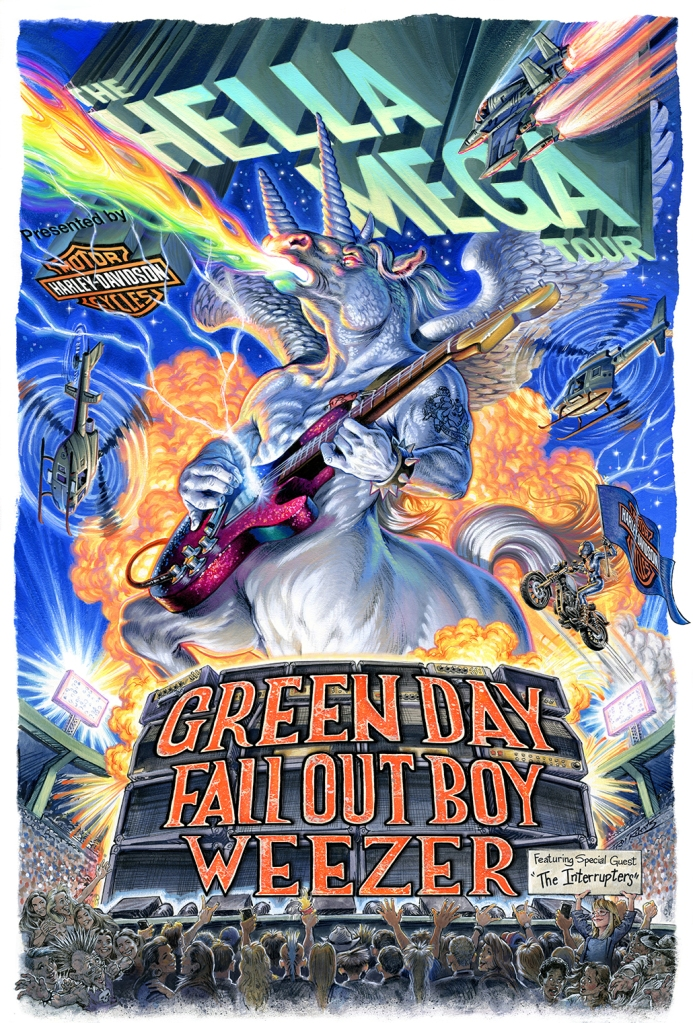 Green Day, Weezer, Fall Out Boy Tour vs. San Diego Comic-Con