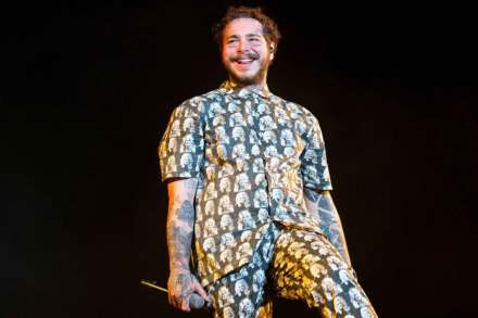 Post-Malone Keeps His Unstoppable Roll Going on 'Hollywood's Bleeding'