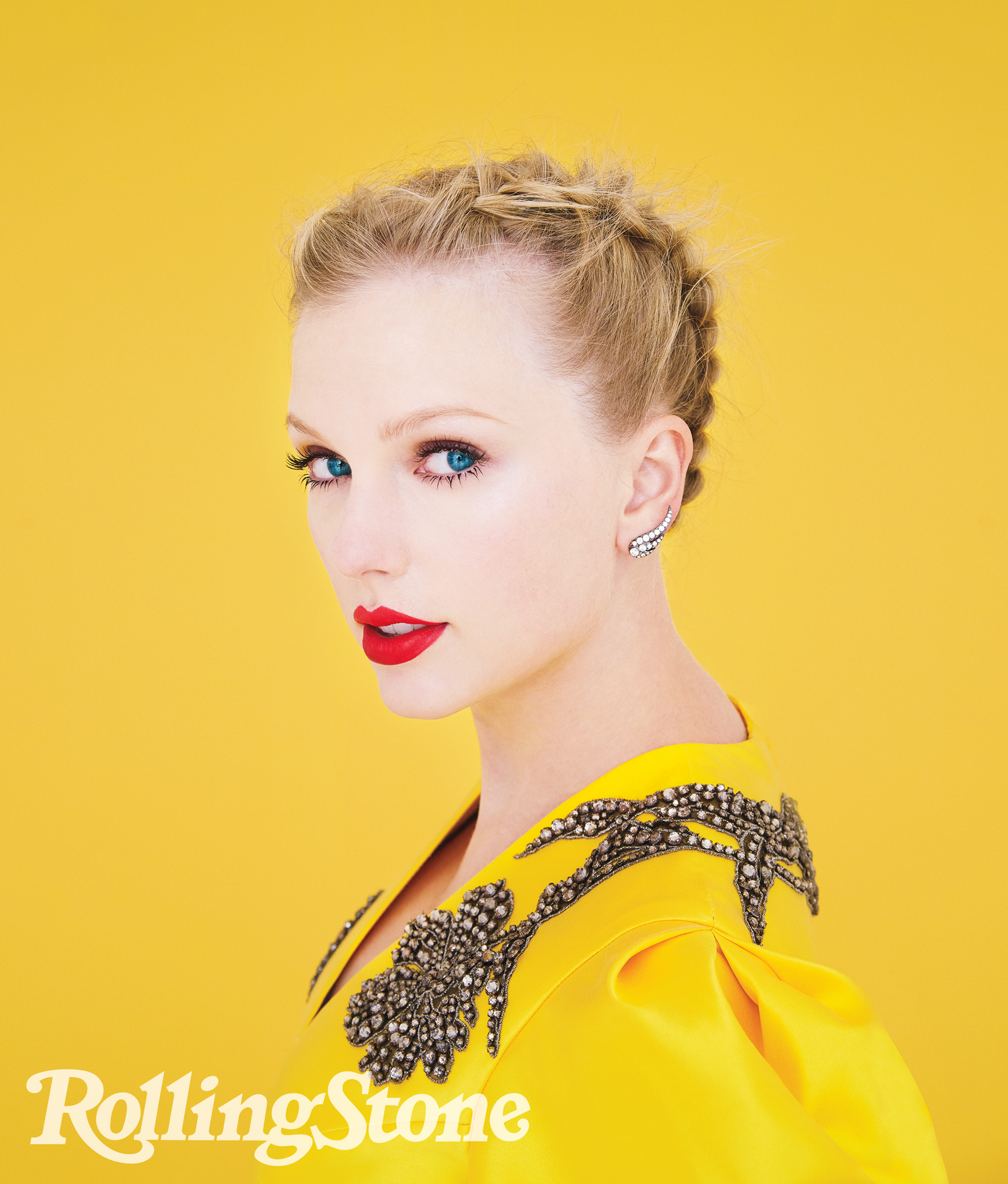 RS1332Taylor Swift Photograph by by Erik Madigan Heck for Rolling Stone