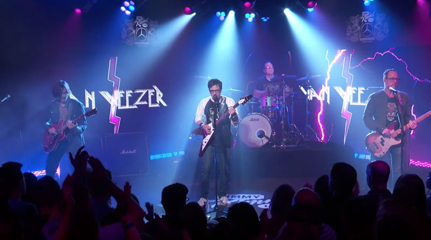 Weezer Play Metal-Inspired Single 'The End of the Game' on