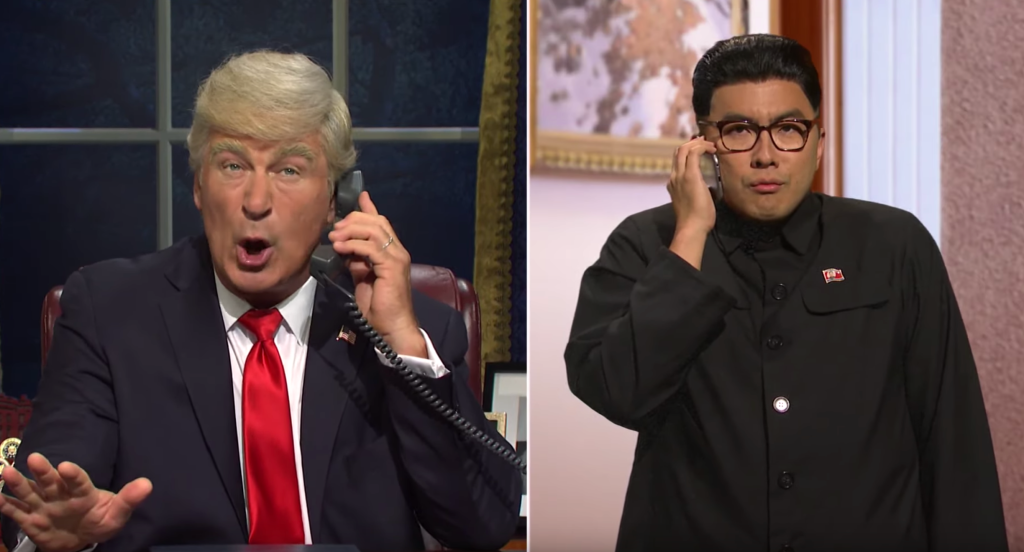 See Alec Baldwin's Trump Fret About Impeachment in 'SNL' Cold Open