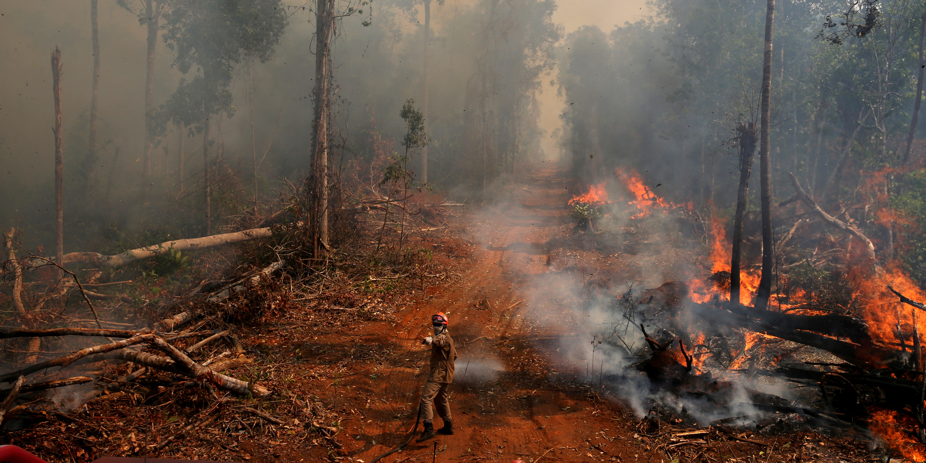 Inside the Lawless Frontier at the Heart of the Burning Amazon