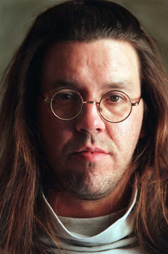 Feb. 12, 1997 - Minneapolis, Minnesota, U.S. - Author David Foster Wallace. (Credit Image: © TNS via ZUMA Wire)