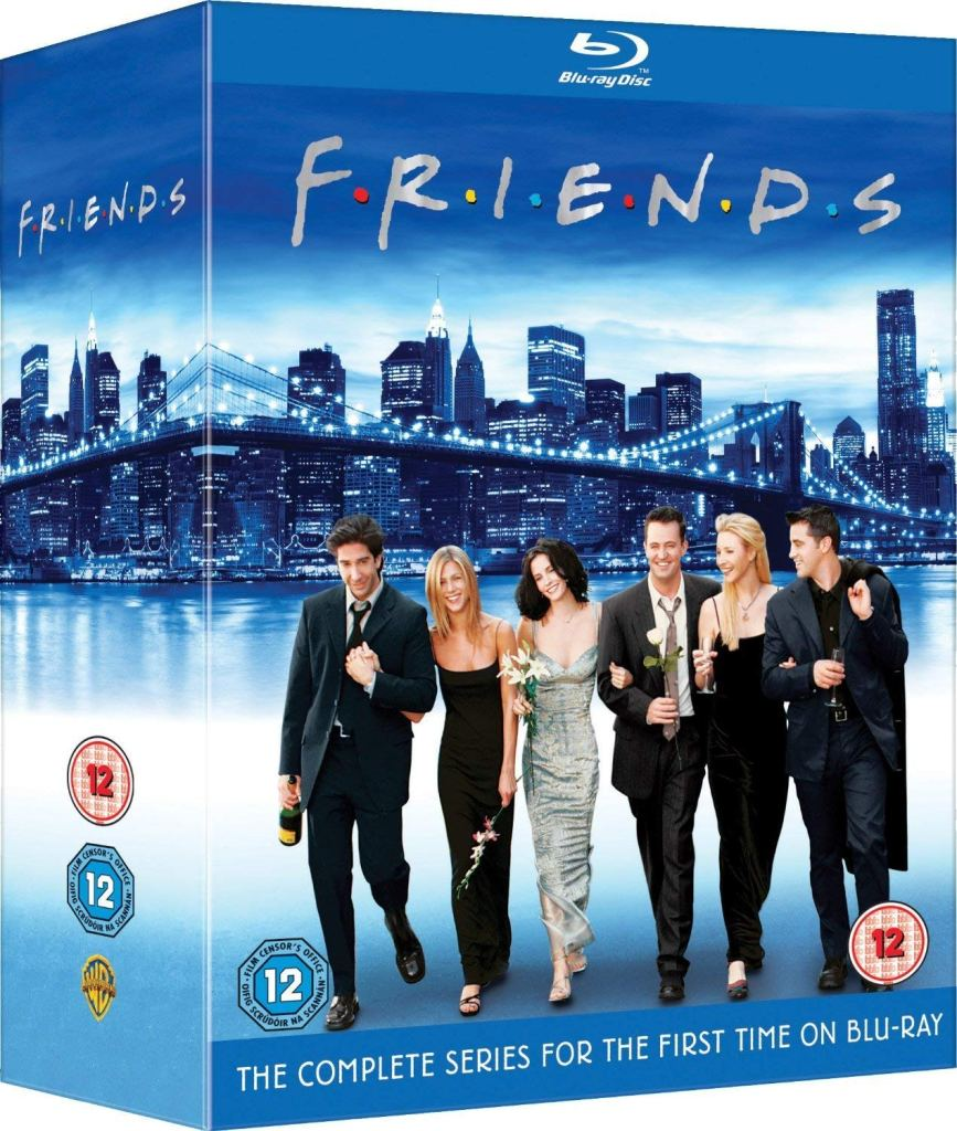 friends complete series dvd blu ray