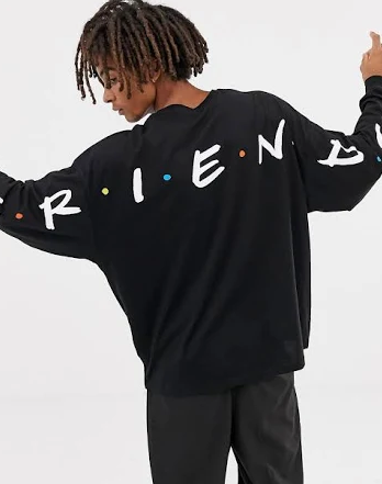 asos friends sweatshirt