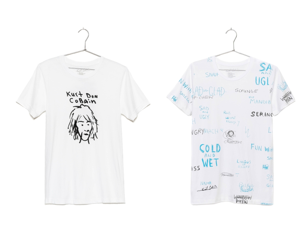 kurt cobain clothing collection