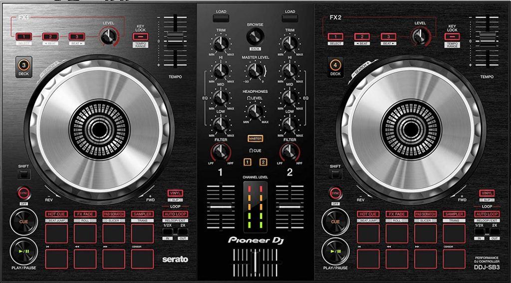 pioneer-ddj-sb3-controller review