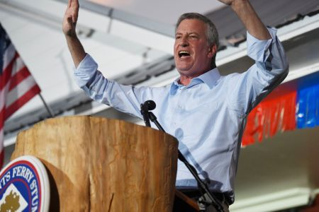 Bill de Blasio Ends Presidential Campaign